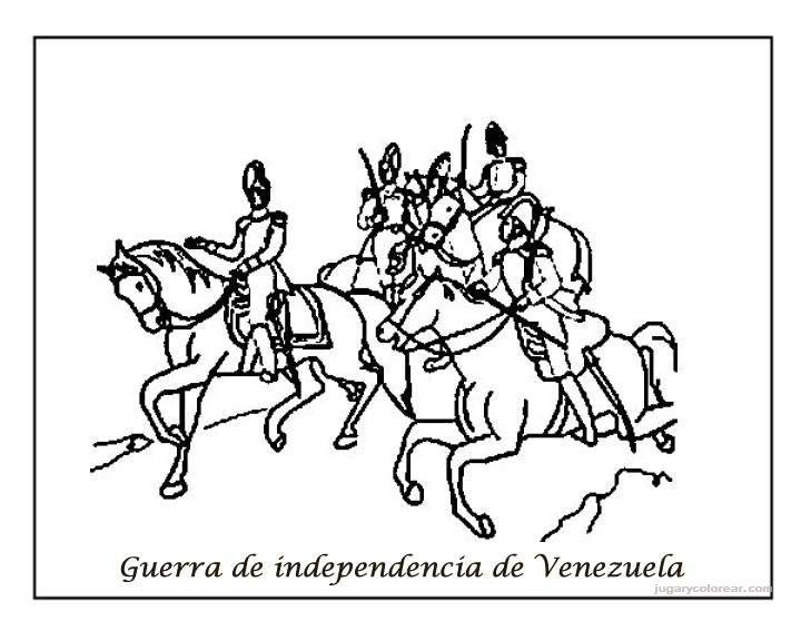 Dibujos Para Colorear De Venezuela